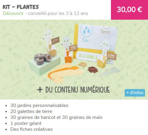 Pandacraft - kit plantations