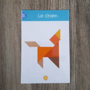 Tangram des soustractions - carte solution