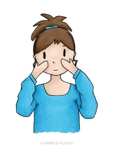 Massage du visage jusqu'aux trapèzes