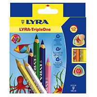 Les crayons Lyra Tiple One