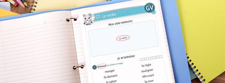 Conjugaison - Le verbe - CE1