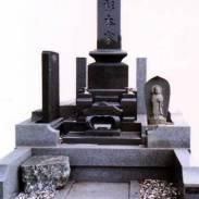 ■関東型スリン付高級墓石