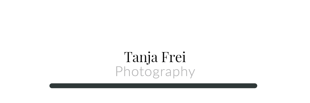 Logo for Tanja Frei Photography