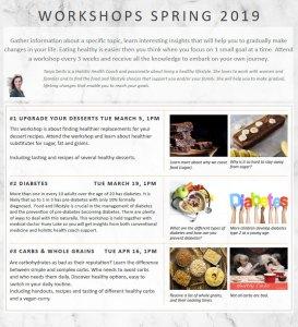 Spring 2019 Workshops 1