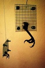corvine talons sihouette