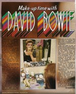 Make Up Time with David Bowie
