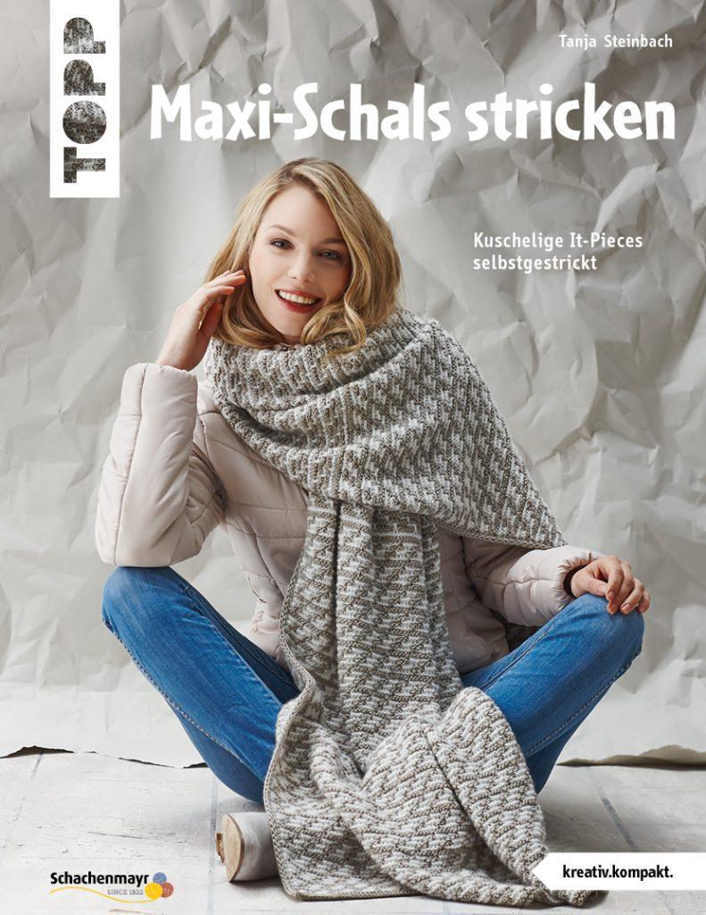 Maxi-Schals stricken - mein neues Buch ist da!