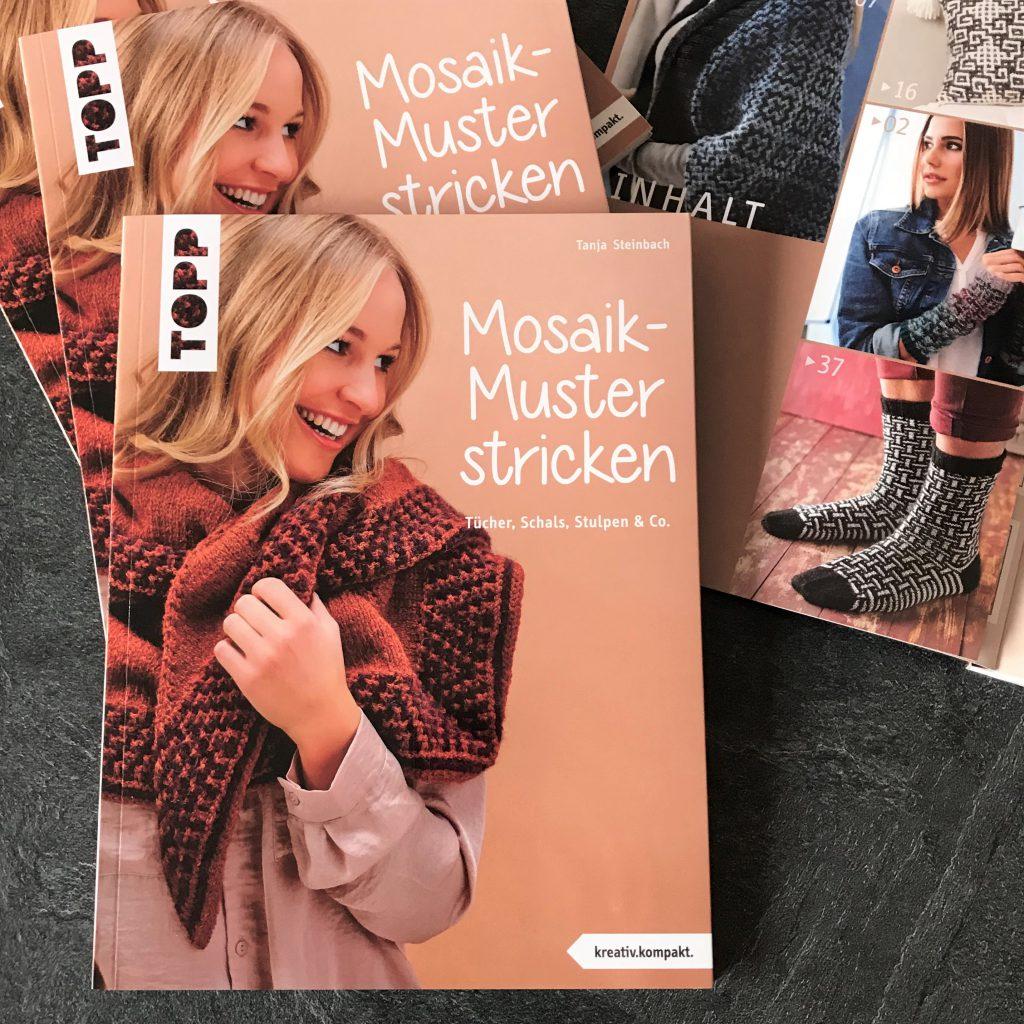 Mosaik-Muster stricken - mein neues Buch ist (bald) da!
