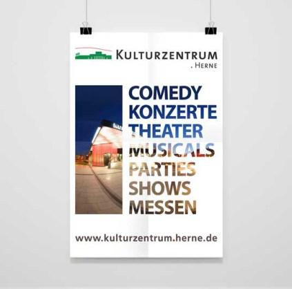 Kulturzentrum Herne | Imageplakat
