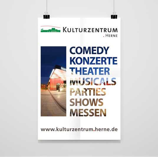 Kulturzentrum Herne   Imageplakat