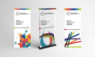 Roll Up-Entwürfe für den Bundesverband Museumspädagogik e.V.