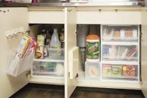 「キッチン 開き戸 収納」の画像検索結果