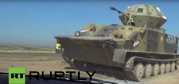 BTR-50 with gun