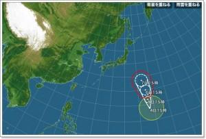 台風5号2016