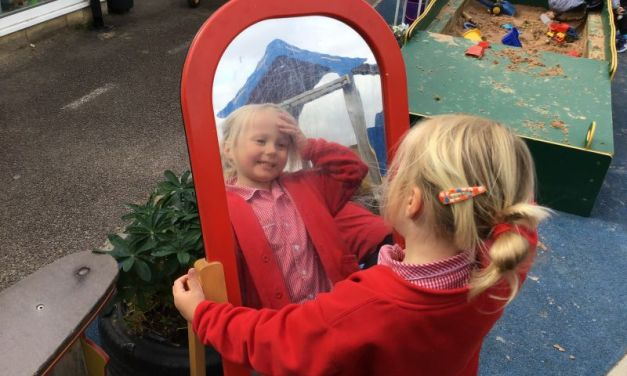 THE SHINING STARS MAKE A FANTASTIC START IN THEIR NEW RECEPTION CLASS!