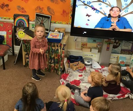 Poetry in Nursery…