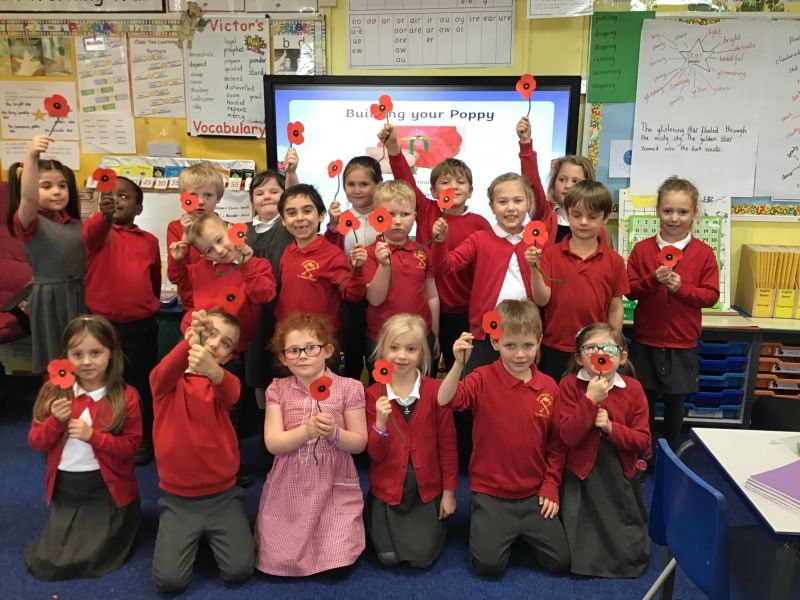 Today we have been learning about Remembrance Day.