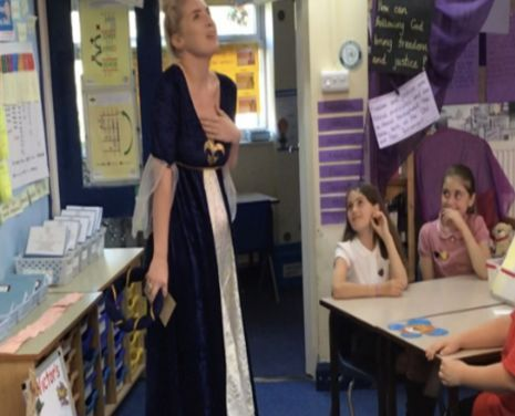 Lady Capulet visits and we attend the Capulet ball…