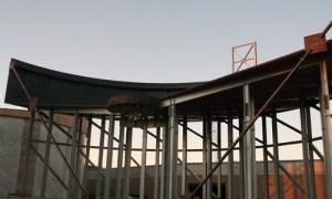 Field erected thickener tanks photo
