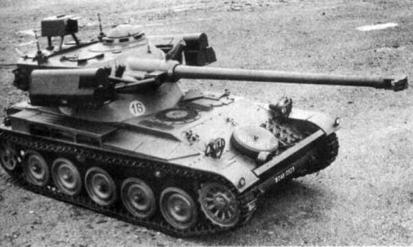AMX-13-75 HOT (later model)