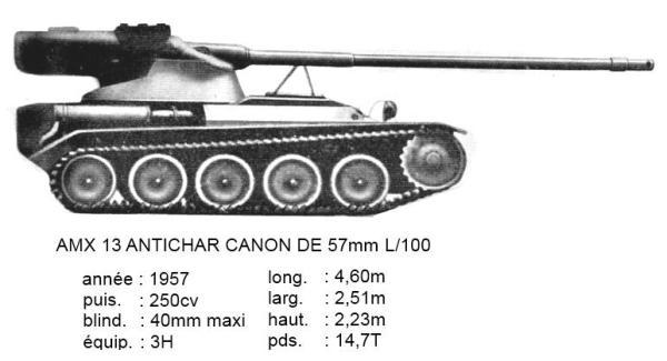 AMX-13 57mm L/100