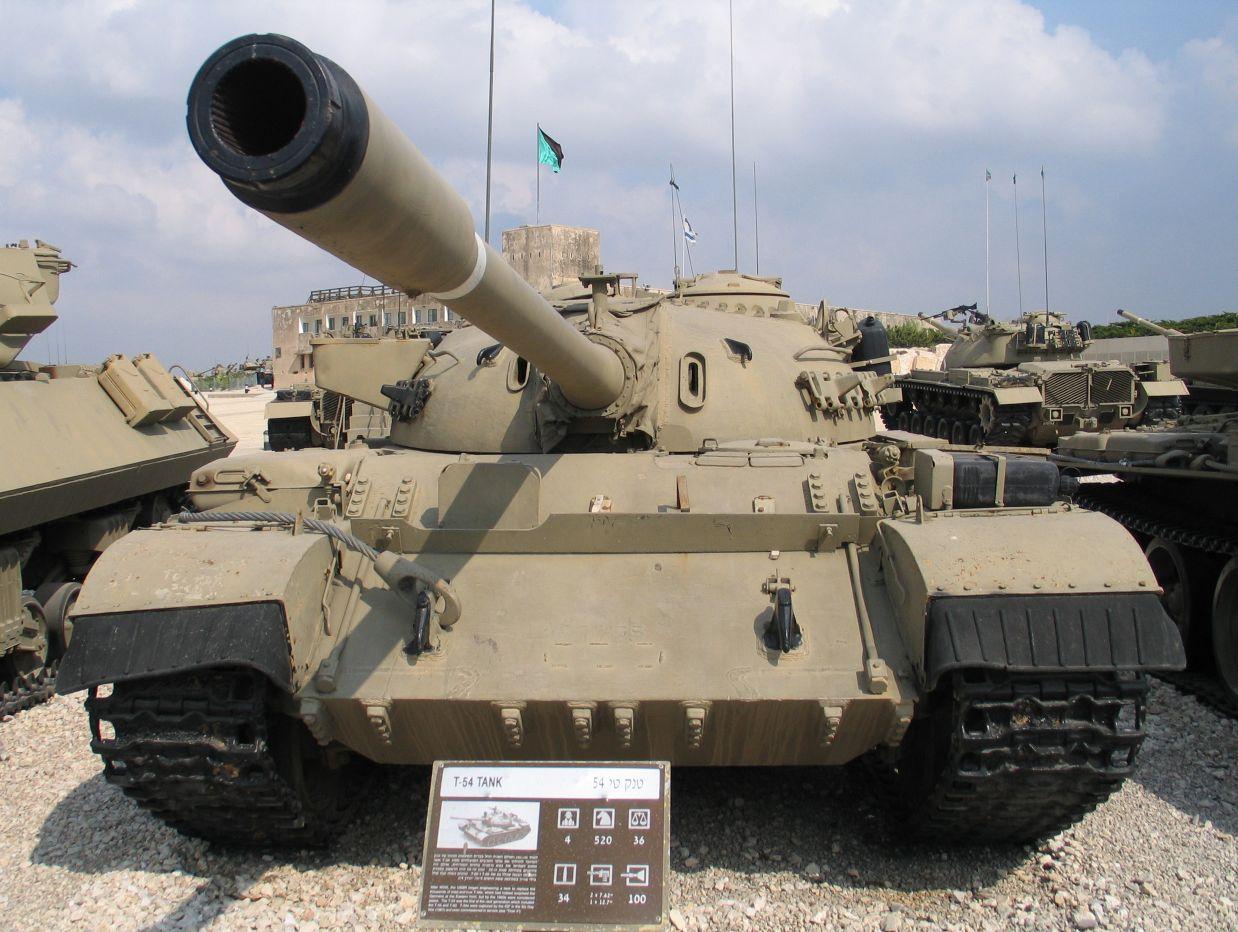 Tiran-4 tank of IDF