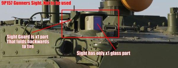 9P157 sight firing mode