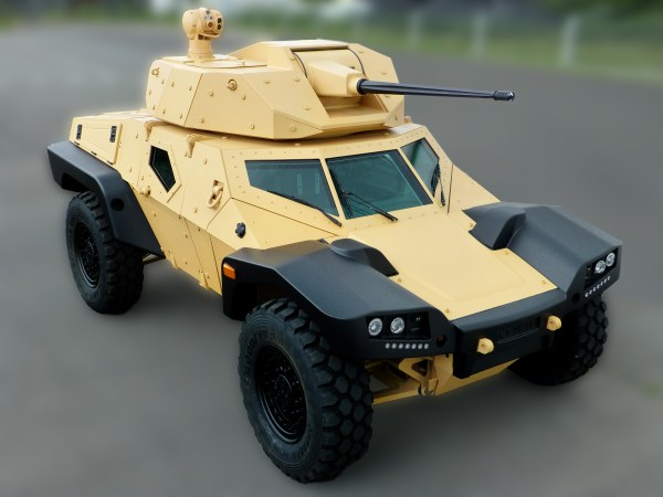 CRAB stands for Combat Reconnaissance Armored Buggy