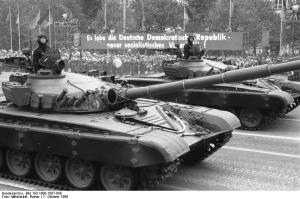 The T-72M in former East Germany service