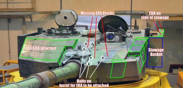 Type 99A2 Turret Armor