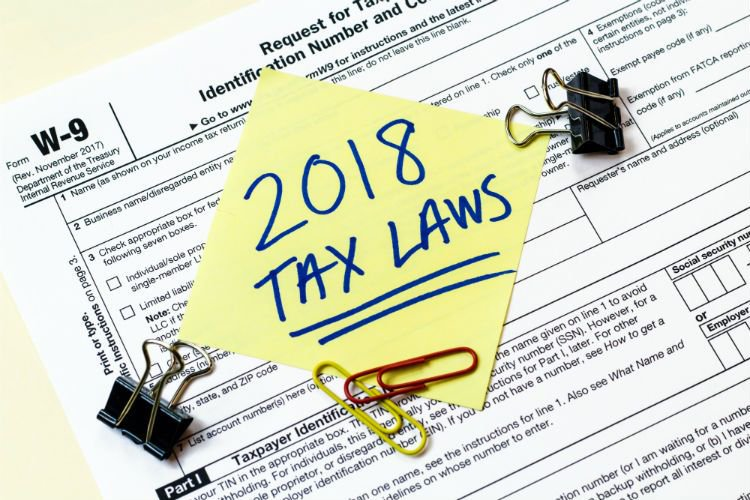 the new 2018 tax laws in montana