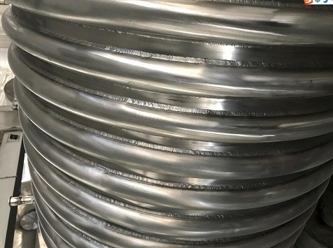 Welded Tube Heat Transfer Jacket High Pressure Applications ASMA Certified