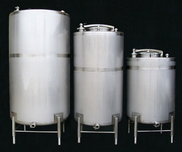 3 TanksUSA Stainless Steel Storage Tanks