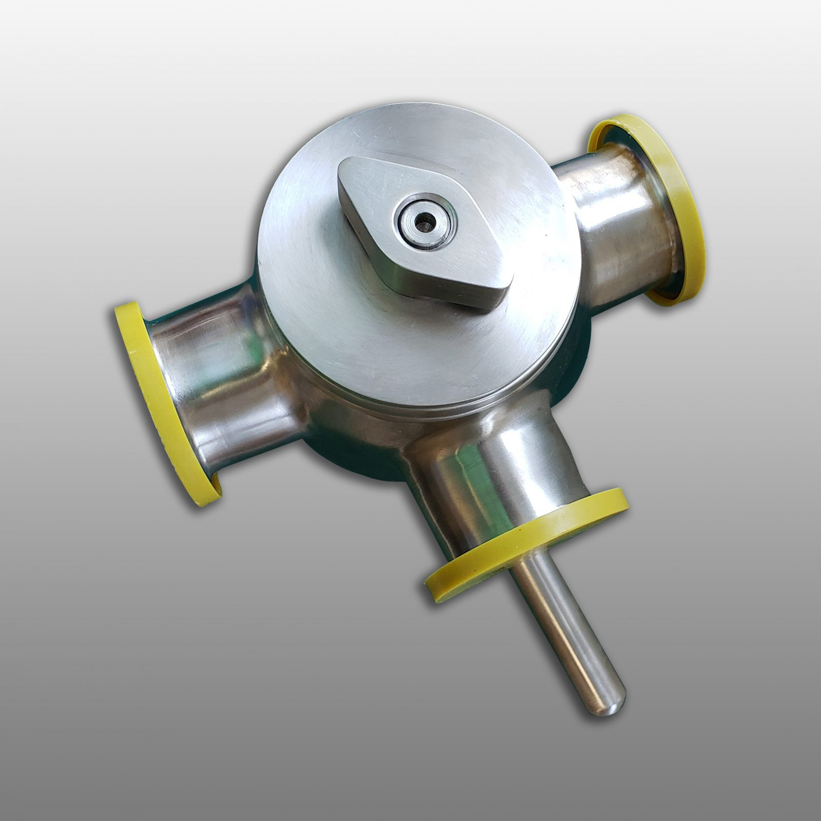3 way plug valve