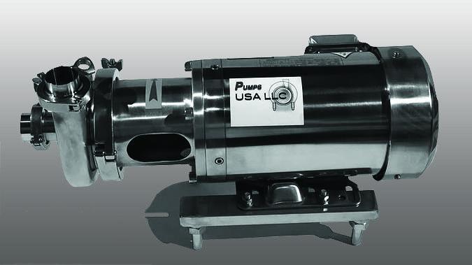 TanksUSA - PUSA-400 Sanitary Centrifugal Pump