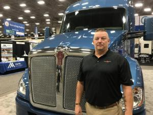 A Stevens Transport driver and retired 28-year U.S. Army veteranGregg Softy won the U.S. Chamber of Commerce Foundation's award