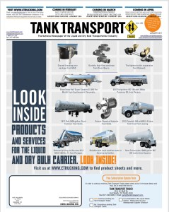 Tank Transport Trader The National Newspaper of the Liquid and Dry Bulk Transportation Industry
