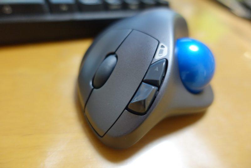 快適すぎて手放せない!トラックボールマウス「logicool製のワイヤレストラックボール M570t」を使ってみた(使用レビュー)
