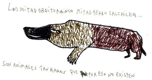 ornitorrinco-salchicha