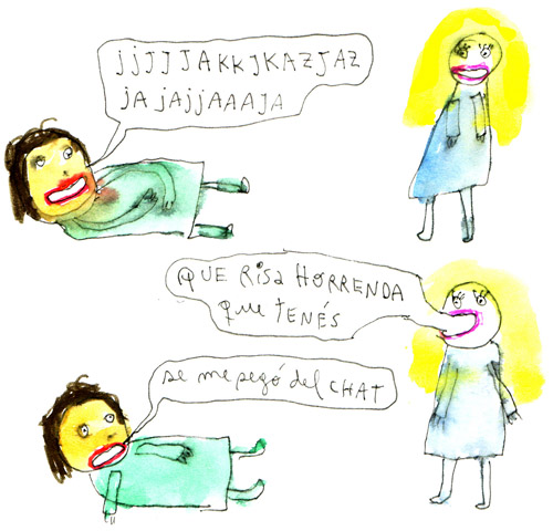 risa horrenda