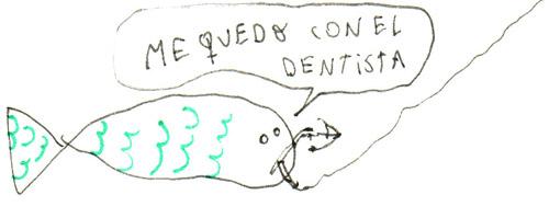 pez dentista