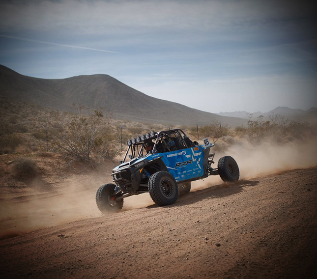 Tanner Foust Tackles Mint 400 In Polaris RZR Versatile
