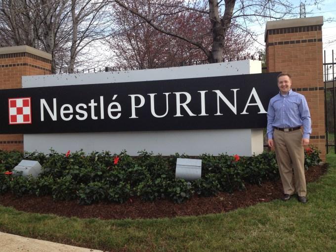 Tanner Hobin at Nestle Purina