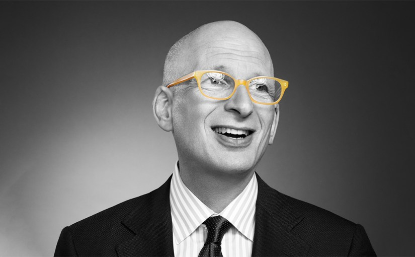 Seth Godin in black and white