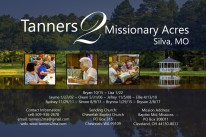 Tanner Family Prayer Card Draft - Back