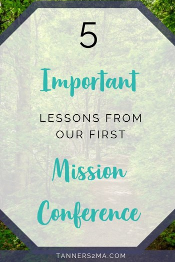 Lessons learned on deputation from our first mission conference. #missionarylife #deputation
