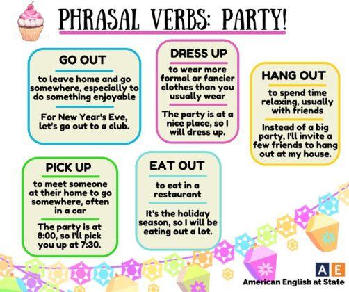 Phrasal Verbs Party