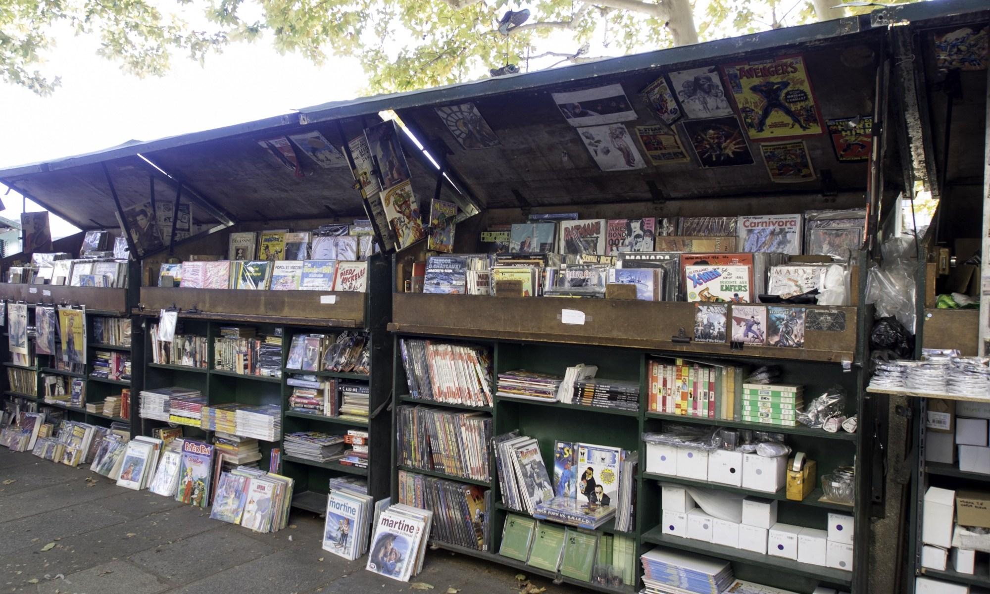 riverside book-stall in Paris
