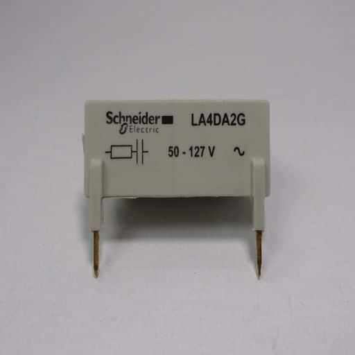 LA4DA2G-Surge (or coil) suppressor 50 to 127 volt for D40 to D150 contactors