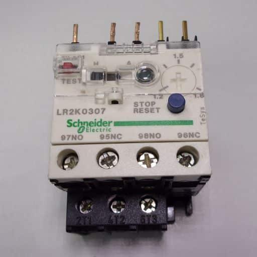LR2K0307-Thermal Overload Relay 1.2-1.8 Amps K-Line